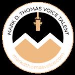 Mark D Thomas Voice Talent Faq Logo